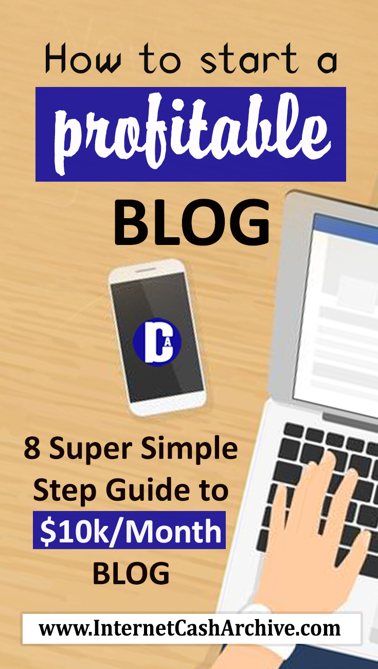 How to Start a Profitable Blog from scratch