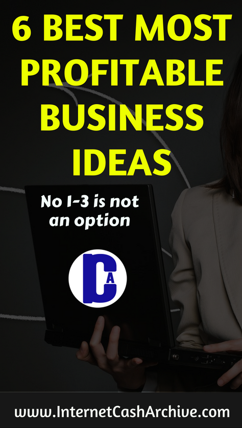 6 Best Profitable Online Business Ideas You Should Consider TODAY!!!