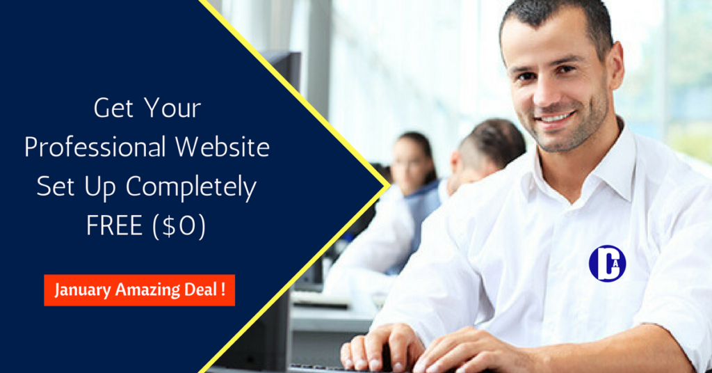 Professional Website Set Up Completely FREE