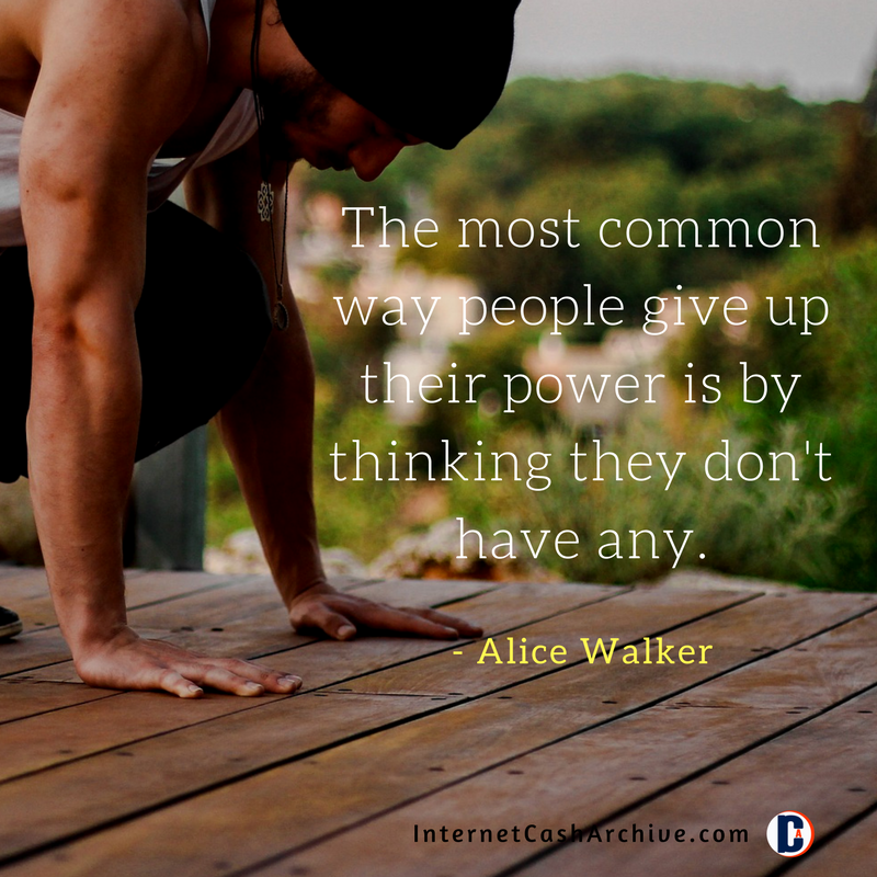 The most common way people give quote -Alice Walker